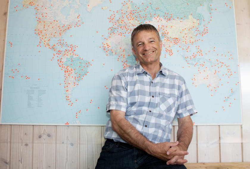 "Roman Brühwiler belegt Rang fünf auf der Liste der ""Most Traveled People"" der Welt."